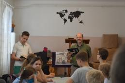 Bro. Carney teaching