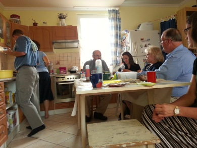 Fellowship with the Kovacs and Carney families