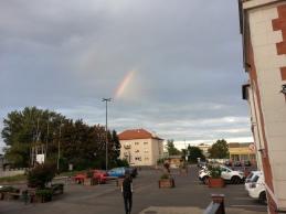 Beautiful double rainbow