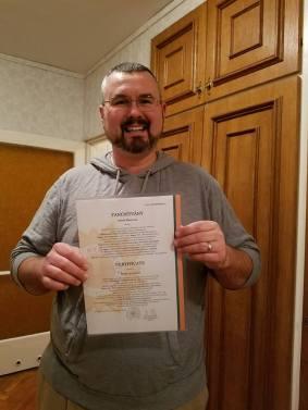 Finished first semester language class