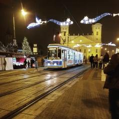 Christmas tram!