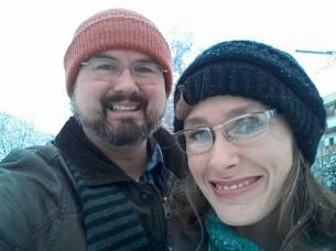 Snow day selfie