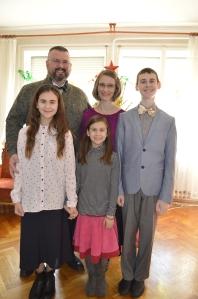 Arnold family Dec 2017