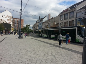 Around the city center