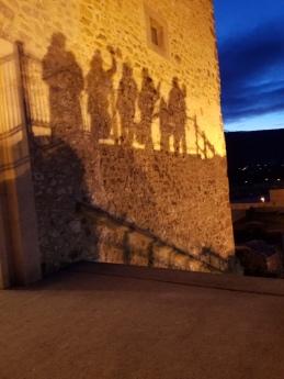 Diósgyőr Castle at night