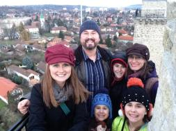 Visiting Miskolc with Mena